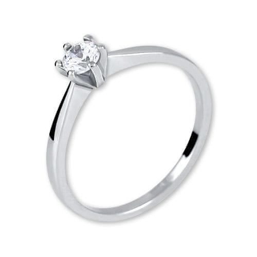 Brilio Silver Stříbrný zásnubní prsten 426 001 00501 04 - 1,40 g 58 mm