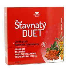 EkoMedica Czech Šťavnatý duet jeřáb ptačí + rakytník řešetlákový 2 x 500 ml