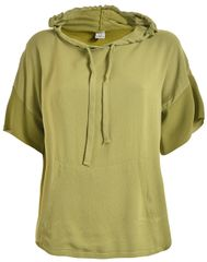 Deha Hoodie Sweet női póló D73440 Golden Olive