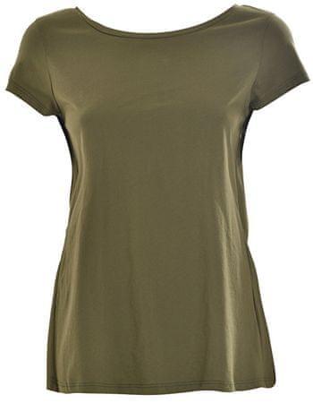 Deha Dámské triko Slit Back Tee D73480 Military Olive (Velikost S)