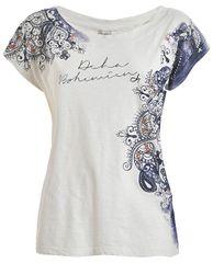 Deha Dámske tričko Graphic Tee D73350 Lily White