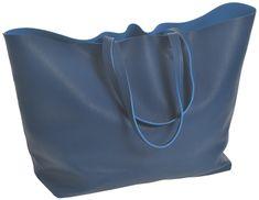 Deha Dámská kabelka Bi Color Tote D73382 Dark Blue