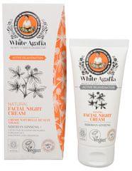 Babushka Agafia White Agafia Active Rejuvenation přírodní noční pleťový krém 50+ 50 ml