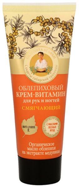 Babushka Agafia Rakytníkový krém na ruce a nehty 75 ml