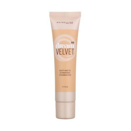 Maybelline Dream Velvet mattító hatású gyengéd hidratáló alapozó(Soft-Matte Hydrating Foundation) 30 ml (árnyé