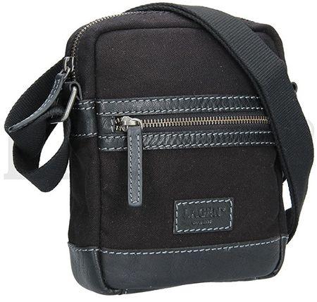 Lagen Pánská taška přes rameno 22409 BLACK GREY  afa6b0425b0