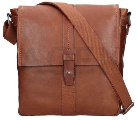 Lagen Pánska taška cez rameno 22420 BROWN
