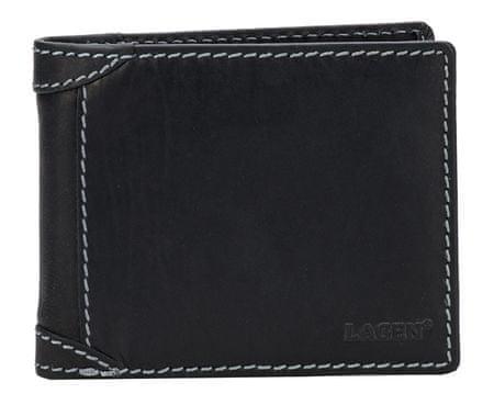 Lagen Pánská kožená peněženka 511462 BLACK