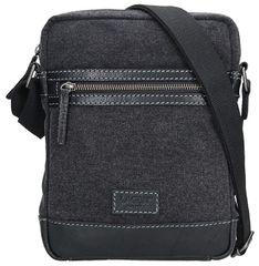 2514eb74f5 Lagen Pánská taška přes rameno 23306 BLACK