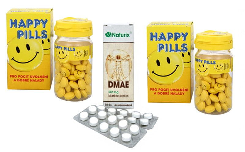 Vetrisol Happy Pills 2 x 75 tbl. + DMAE 50 tbl.