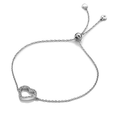 Hot Diamonds Stříbrný náramek se srdíčkem Love DL567 stříbro 925 ... 42a749736e0