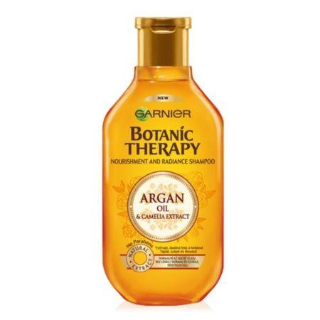 Garnier Vyživující šampon s arganovým olejem a kamélií pro normální až suché vlasy Botanic Therapy (Nourishm