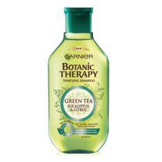 Garnier Tonizující šampon se zeleným čajem na rychle se mastící vlasy Botanic Therapy (Tonifying Shampoo)
