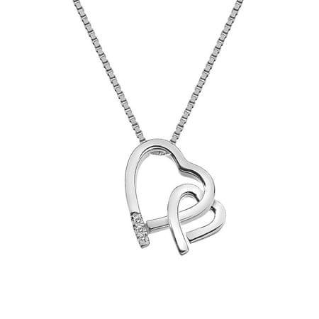Hot Diamonds Překrásný náhrdelník Hot Diamonds Love DP659 stříbro 925/1000