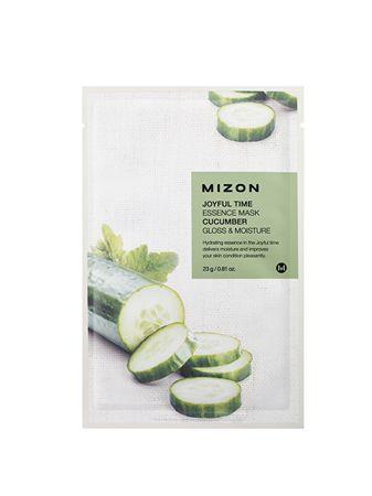 MIZON Plátýnková 3D maska s okurkou pro zářivou a hydratovanou pleť Joyful Time (Essence Mask Cucumber) 23