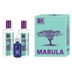 Brazil Keratin Dárková sada Marula s přírodním exotickým olejem pro krásu a svěžest vlasů i těla