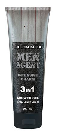 Dermacol Sprchový gel pro muže 3v1 Intensive Charm Men Agent (Shower Gel) 250 ml