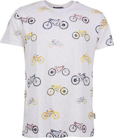 Noize Pánske tričko White 4634236-00 (Veľkosť S)