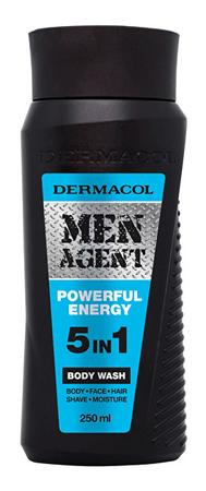 Dermacol Sprchový gél pre mužov 5v1 Powerful Energy Men Agent ( Body Wash) 250 ml