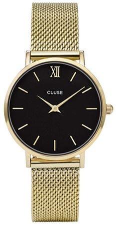 Cluse MinuitMesh Gold/Black CL30012