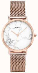 Cluse LaRochePetite Mesh Rose Gold/White Marble CL40107