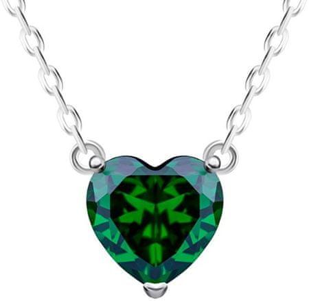 Preciosa Strieborný náhrdelník Cher 5236 66 striebro 925/1000
