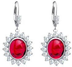 Preciosa Stříbrné náušnice Camellia 6107 63 stříbro 925/1000