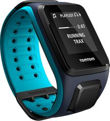 TomTom Runner 2 Cardio + Music Sky Captail Blue (L)