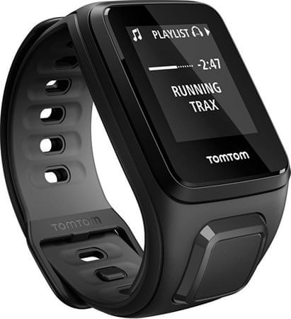 TomTom Runner 2 Cardio + Music BLK/ANT (S)