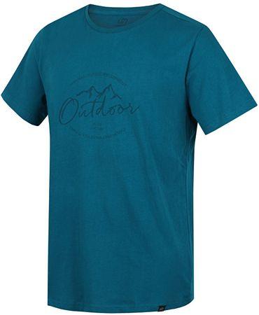 Hannah Pánske tričko Burch Deep lake (Veľkosť M)