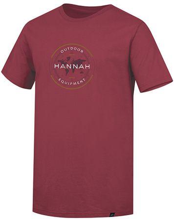Hannah Pánske tričko Burch Burn t Russet (Veľkosť M)