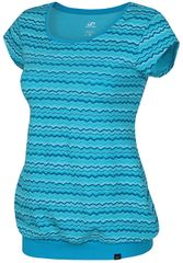 Hannah Dámske tričko Surimi Blue curacao