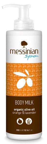 Messinian Spa Tělové mléko pomeranč & levandule 300 ml