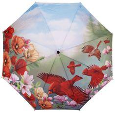 Blooming Brollies Dámský deštník Cardinals folding style