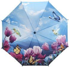 Blooming Brollies Dámský deštník Tulips sonata walking stick style