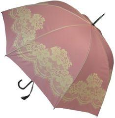 Blooming Brollies Dámský deštník Pink Vintage lace BCSVP