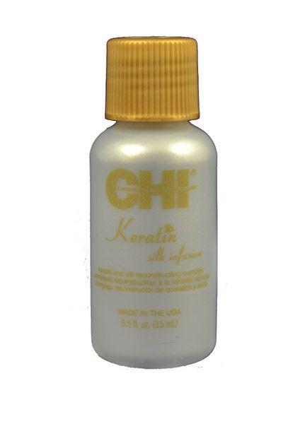 Výživná hedvábná kúra na vlasy s keratinem CHI (Keratin Silk Infusion) (Objem 59 ml)