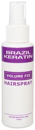 Brazil Keratin Keratinové tužidlo se střední fixací (Volume Fix Hairspray) 100 ml