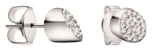 Calvin Klein Oceľové náušnice s kryštálmi Brilliant KJ8YME040100