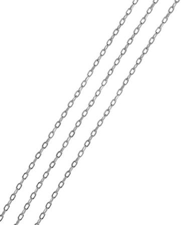 Brilio Silver Srebra łańcuch Anker 45 cm 00 005 471 115 04 - 1,05 g srebro 925/1000