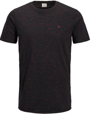 Jack&Jones Pánske tričko Jorworld Tee Ss Crew Neck Tap Shoe (Veľkosť S)