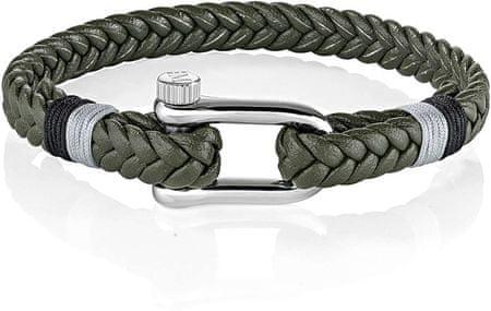 Morellato Zöld színű fonott karkötő SAJC11