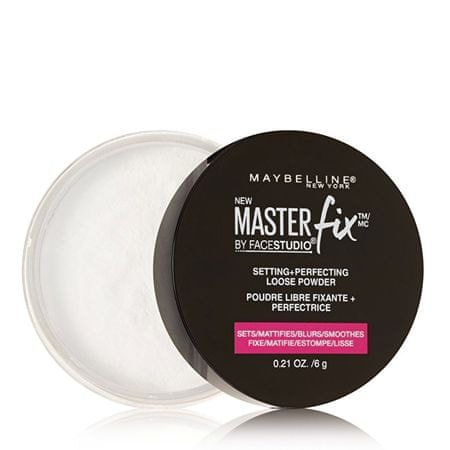 Maybelline Przezroczysty Fixing Proszek Master Fix (Setting & Perfecting Loose Powder) 6 g