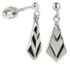 Brilio Silver Stříbrné náušnice pro ženy 431 001 01471 04 - 1,99 g stříbro 925/1000