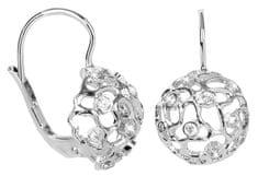 Brilio Silver Stříbrné náušnice s efektivní ozdobou 436 001 00401 04 - 2,32 g stříbro 925/1000