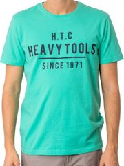 Heavy Tools Pánske tričko Mark S18-205 Mint 511c1669ea5