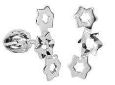 Brilio Silver Hvězdičkové náušnice ze stříbra 431 001 02754 04 - 1,08 g stříbro 925/1000