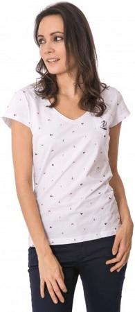 Heavy Tools Dámske tričko Myrta S18-179 White (Veľkosť S)