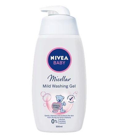 Nivea Micelar (Micellar Mild Washing Gel) 500 ml