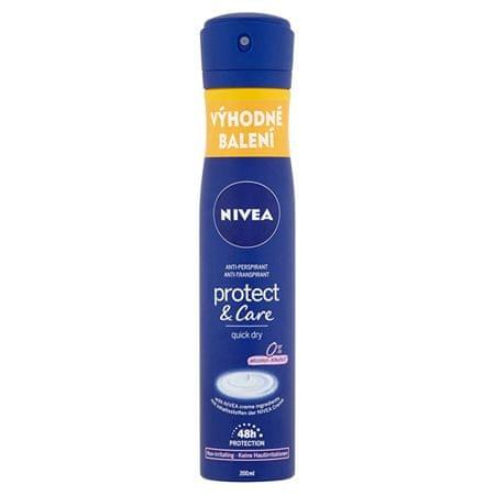Nivea Antyperspirant w sprayu dla kobiet Protect & Care 200 ml